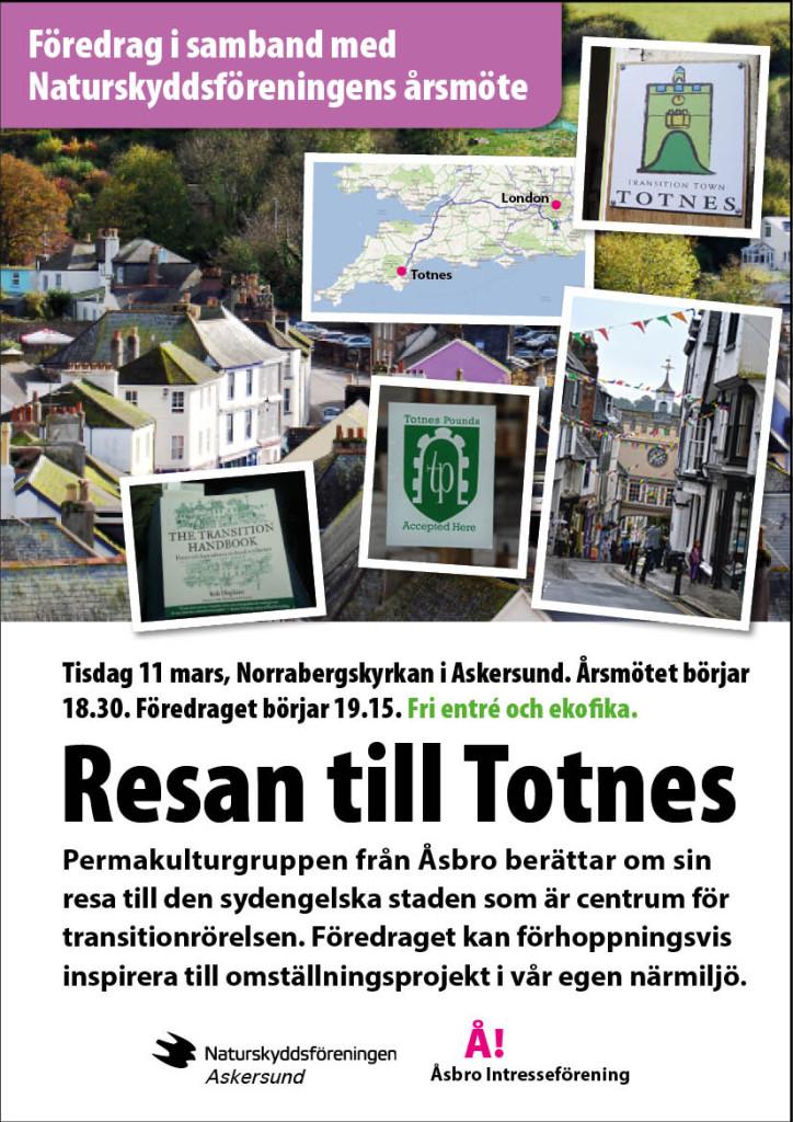 Permakulturgruppen från Åsbro berätter om resan till Totnes