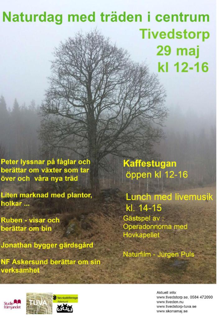Affisch Naturdag tivedstorp.l